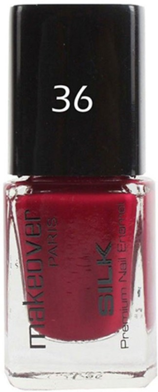 Makeover Professional Nail Paint Dark Magenta-36 Dark Magenta-36(9 ml)