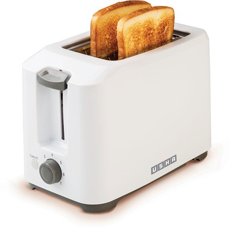 Usha PT 3720 700 W Pop Up Toaster(White)