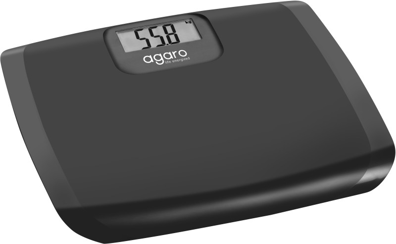 Agaro Electronic Personal Scale_WS501 Weighing Scale(Black)