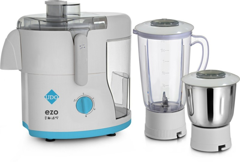 Bestech EZO 500 Juicer Mixer Grinder(White, Clear, 2 Jars)