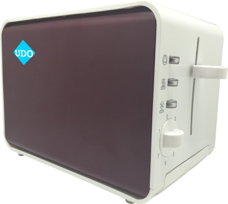 Bestech Toaster_HD_01 800 W Pop Up Toaster(White, Brown)