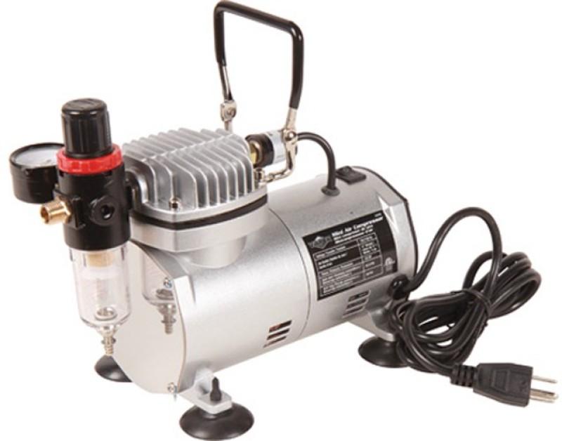 ISC As-18 Mini Compressor Air Pump Airbrush