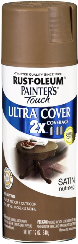 Rust-Oleum Painter'S Touch Ultra Cover Satin Aerosol Paint 12Oz - Nutmeg