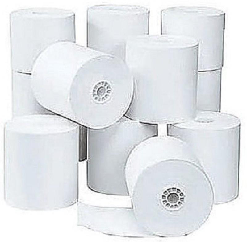 mm enterprises 58mmx25mtr.(2inch) Billing machine roll set of 50 Rolls Thermal Cash Register Paper(8 cm x 12 cm)