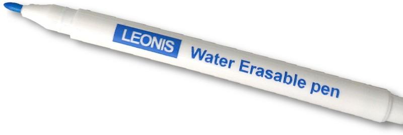 LEONIS Marking Pen 1 mm Water erasable ink(Set of 5, Multicolor)