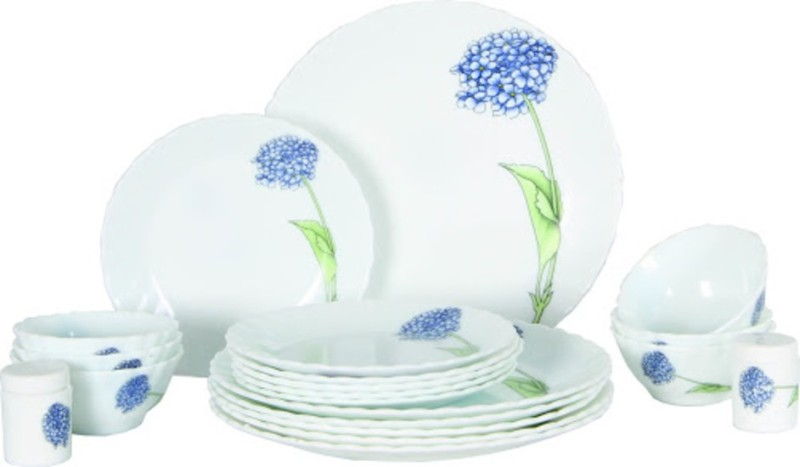Laopala Lilac Blossom-27 pcs Dinner Set(Opalware)
