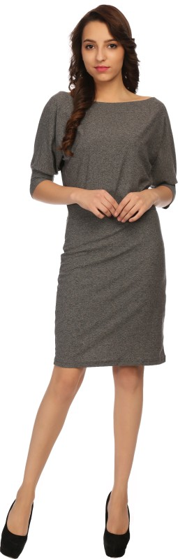 Veronique Women Bodycon Grey Dress