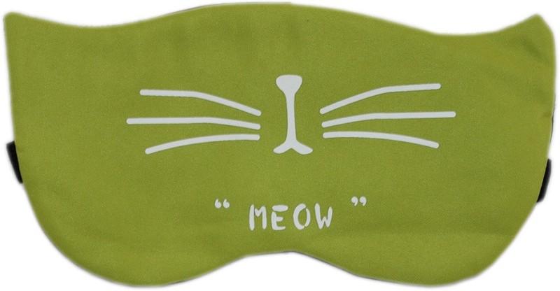 Tootpado Sleeping Eye Mask With Elastic & Cooling Eye Gel - Cat Green (LNTg285)(50 g)