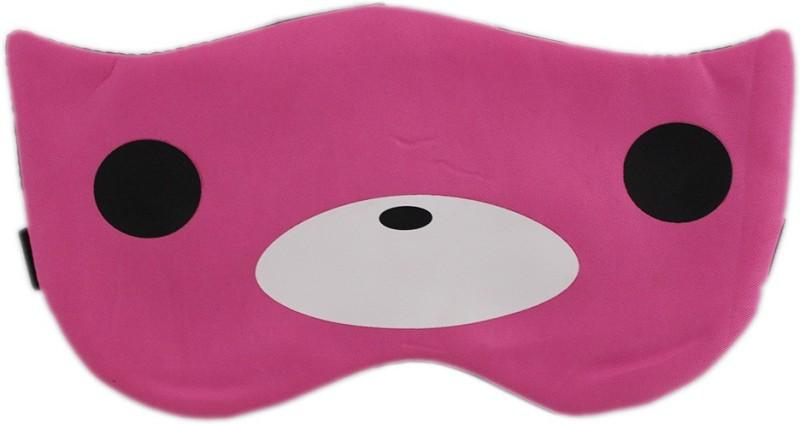 Tootpado Sleeping Eye Mask With Elastic & Cooling Eye Gel - Bear Pink (LNTg281)(50 g)