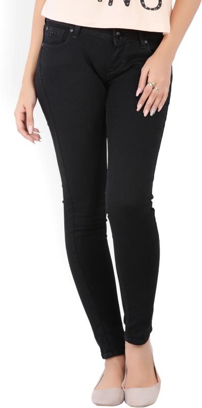 Lee Skinny Womens Black Jeans