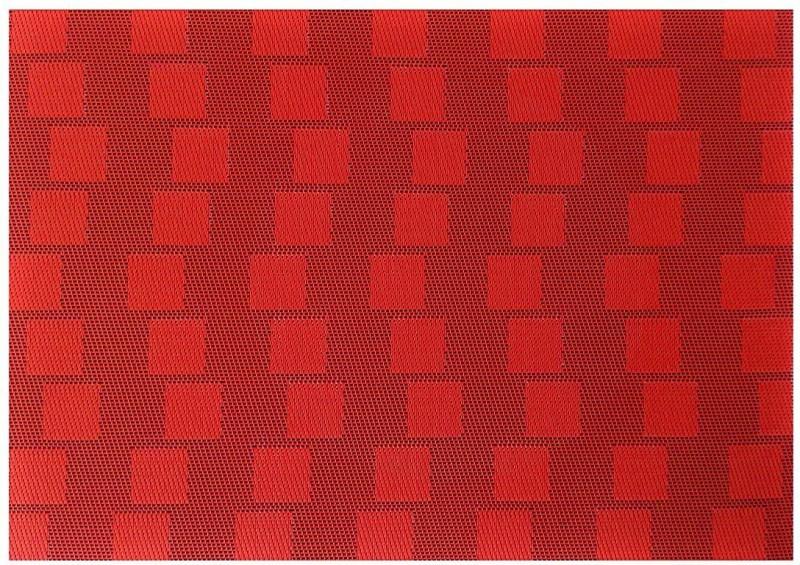 Nimble House Plastic Camping Mat Plastic Mat(Red, Medium)