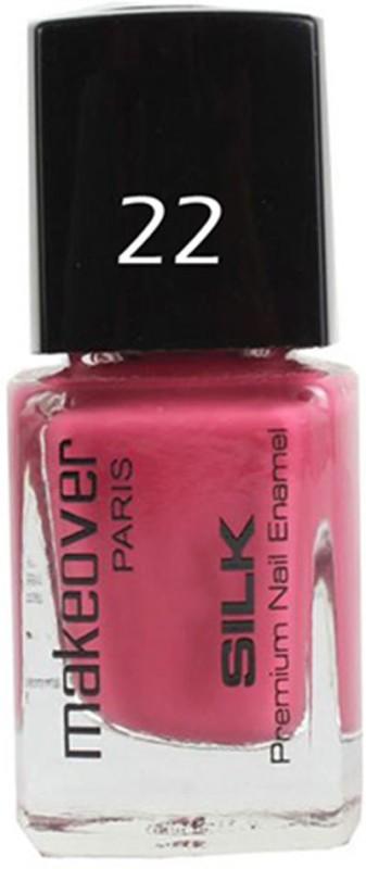 Makeover Professional Nail Paint Glaze Pink-22 Glaze Pink-22(9 ml)