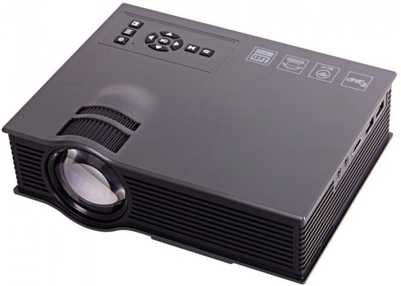 Style Maniac Micro Portable Projector 1200 lm LCD Corded Portable Projector(Multicolor)