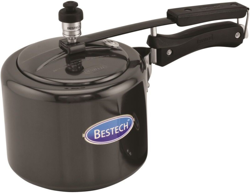 Bestech Regular Inner Lid 5 L Pressure Cooker with Induction Bottom(Hard Anodized)