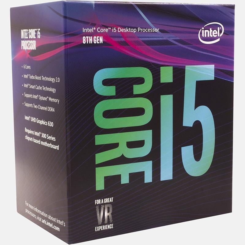 Intel 2.80 GHz LGA 1151 8400 Processor(Silver) image