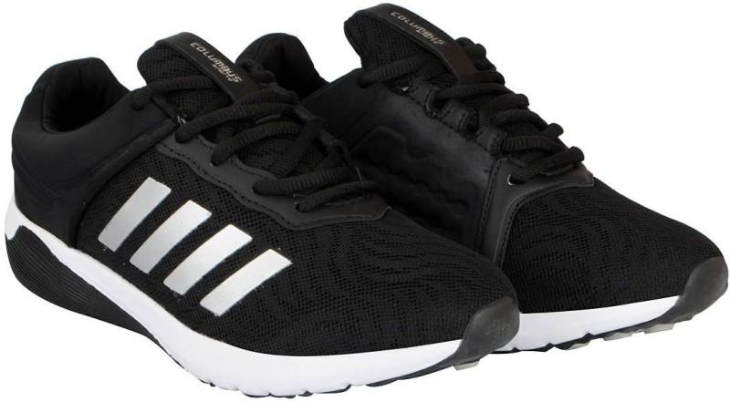 Columbus Mens Running Shoes For Men(Black)