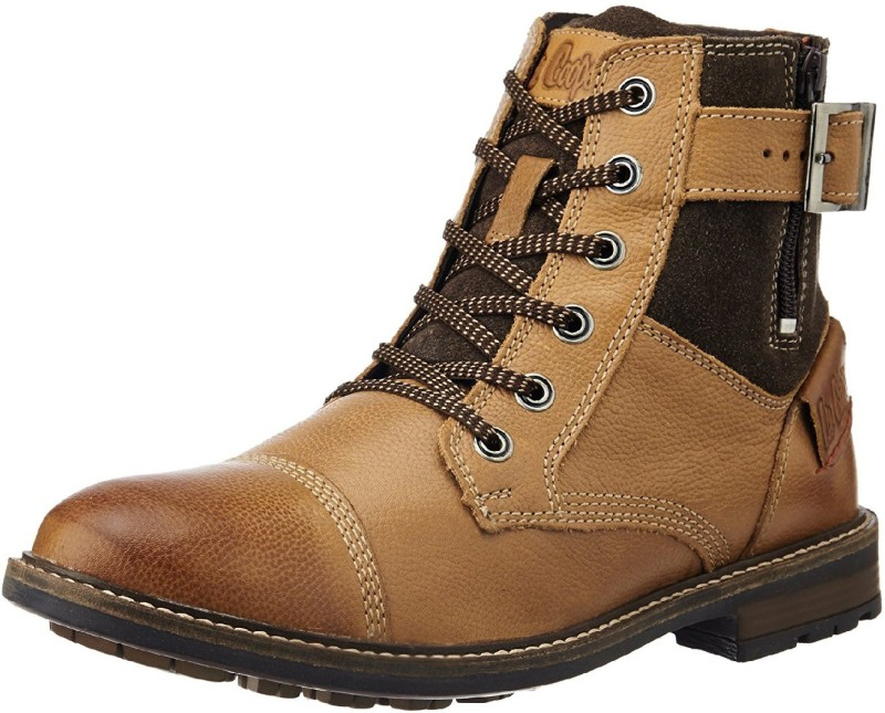 Lee Cooper LC2054 Boots For Men(Tan)