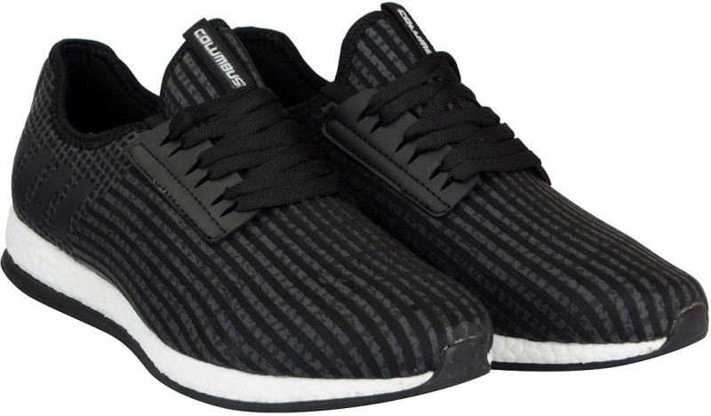 Columbus Mens Running Shoes For Men(Black)