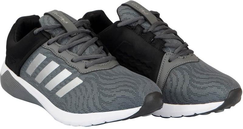 Columbus Mens Running Shoes For Men(Grey, Black)