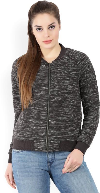 United Colors of Benetton Full Sleeve Self Design Womens Sweatshirt