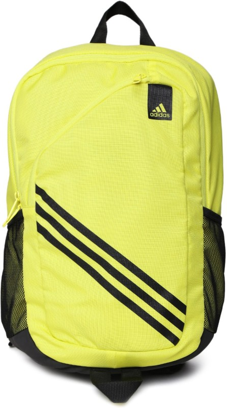 ADIDAS AX8511 2.2 L free size Backpack(Black, Yellow)