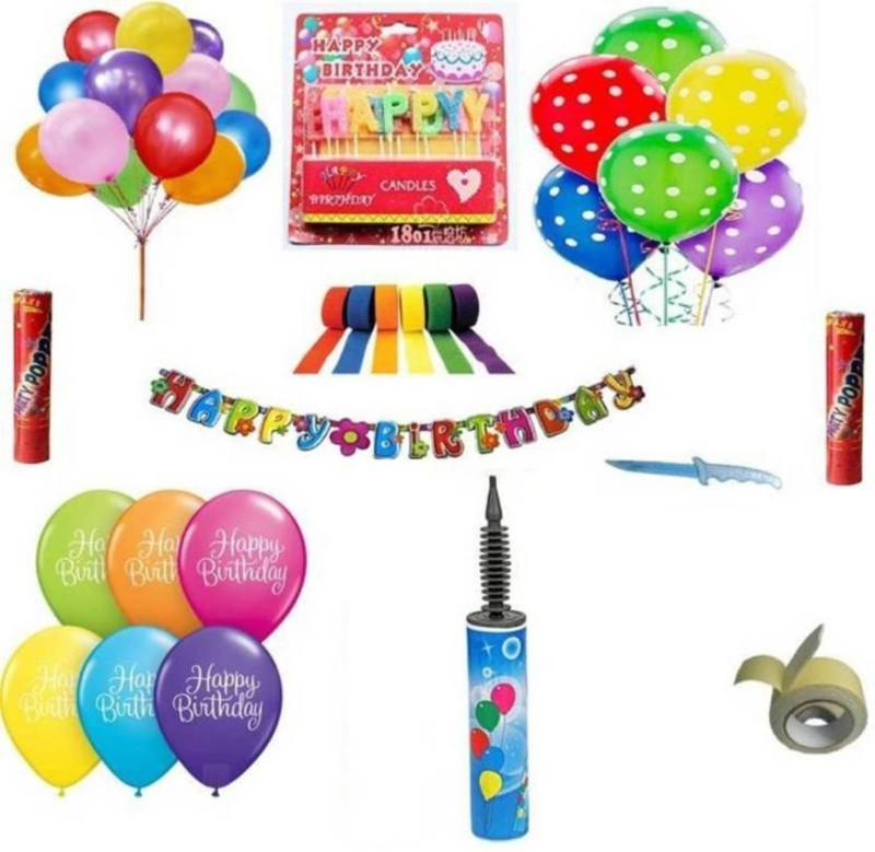 Theme My party Multicolor Decoration - 4 g