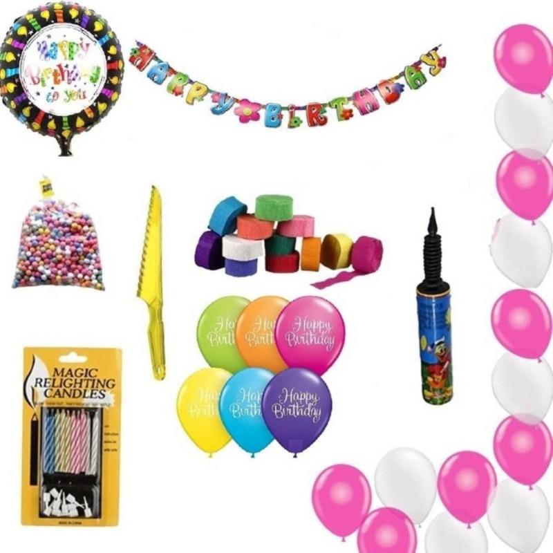 Theme My party Birthday combo Set