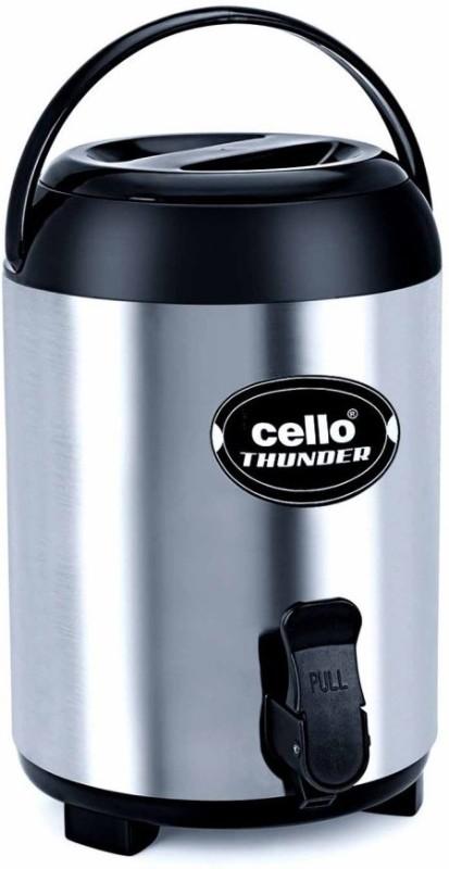 Cello Thunder 4000 ml Flask(Pack of 1, Steel/Chrome)