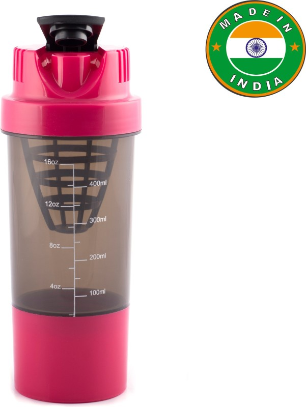 HAANS Shakeit 500 ml Shaker(Pack of 1, Pink)