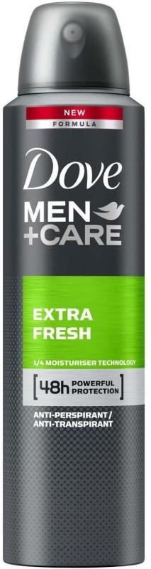 Dove MEN+ Care Extra Fresh Antiperspirant (Imported, Made in UK) Deodorant Spray - For Men(150 ml)