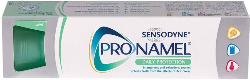 Sensodyne Pronamel Daily Protection Toothpaste (Imported, Made in UAE) Toothpaste(75 g)