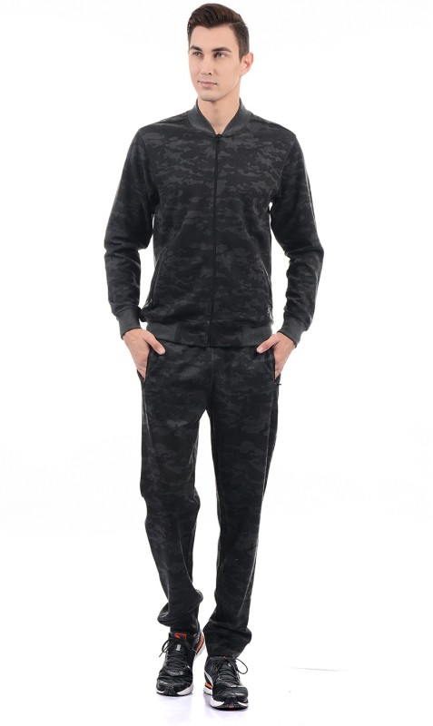 Monte Carlo Printed Men Track Suit