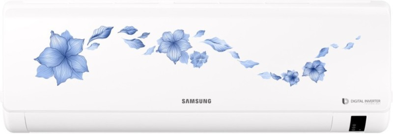 Samsung 1 Ton Inverter (3 Star) BEE Rating 2018 Split AC - White(AR12NV3HFTR, Copper Condenser)