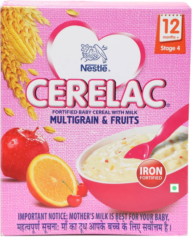Cerelac Multigrain & Fruits - Stage 4 (12months+) Cereal(300 g)