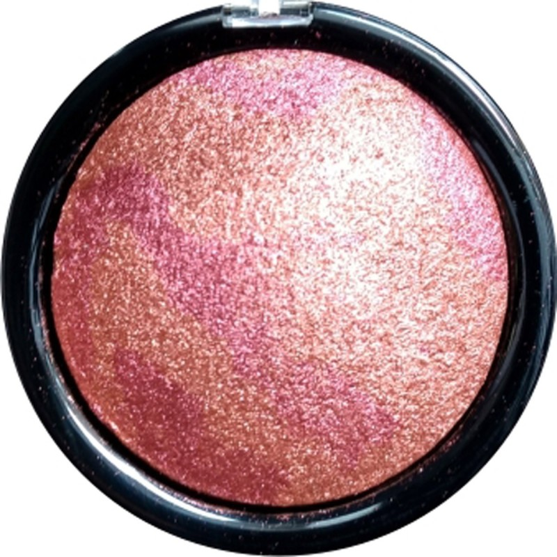 Silky Soft Cream Professional 3D Water Proof Blusher(Colorful Red)