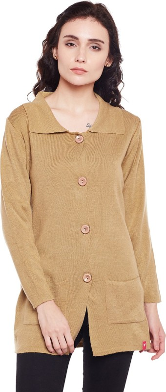 Neva Women Button Solid Cardigan