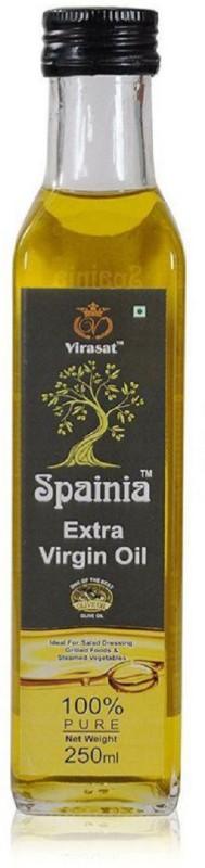 Spainia Extra Virgin Olive Oil 250 ML Olive Oil Glass Bottle(250 ml)