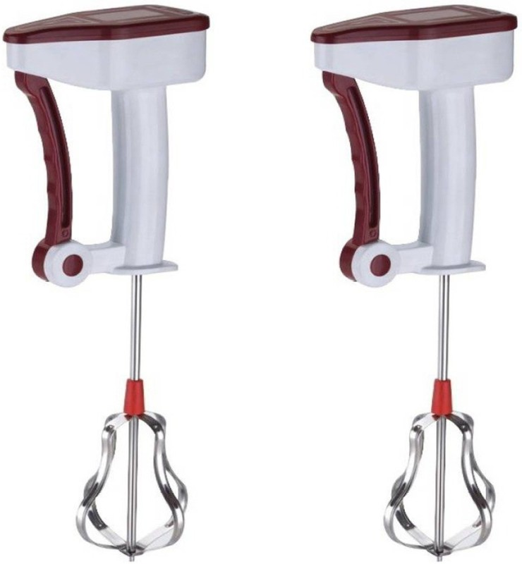 Prince Power free easy flow Brown and Brown color 0 W Hand Blender(Brown)