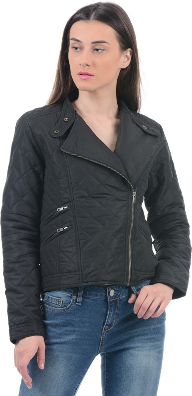 Pepe Jeans Full Sleeve Solid Women Casual Jacket