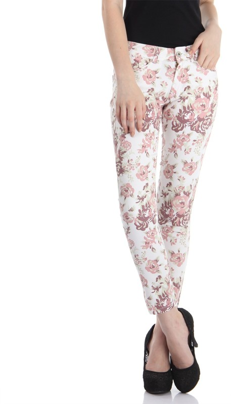 Pepe Jeans Slim Women Pink Jeans
