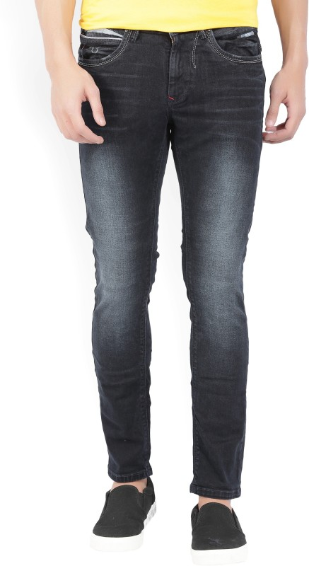 Spykar Slim Men's Black Jeans
