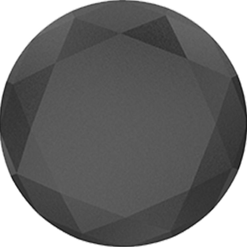 Popsockets Original & Reusable Grip- Black Metallic Diamond Mobile Holder