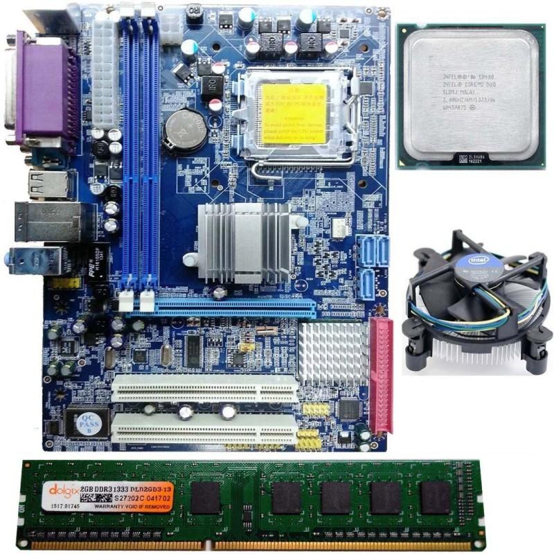 Zebronics intel chip set mother bord Motherboard
