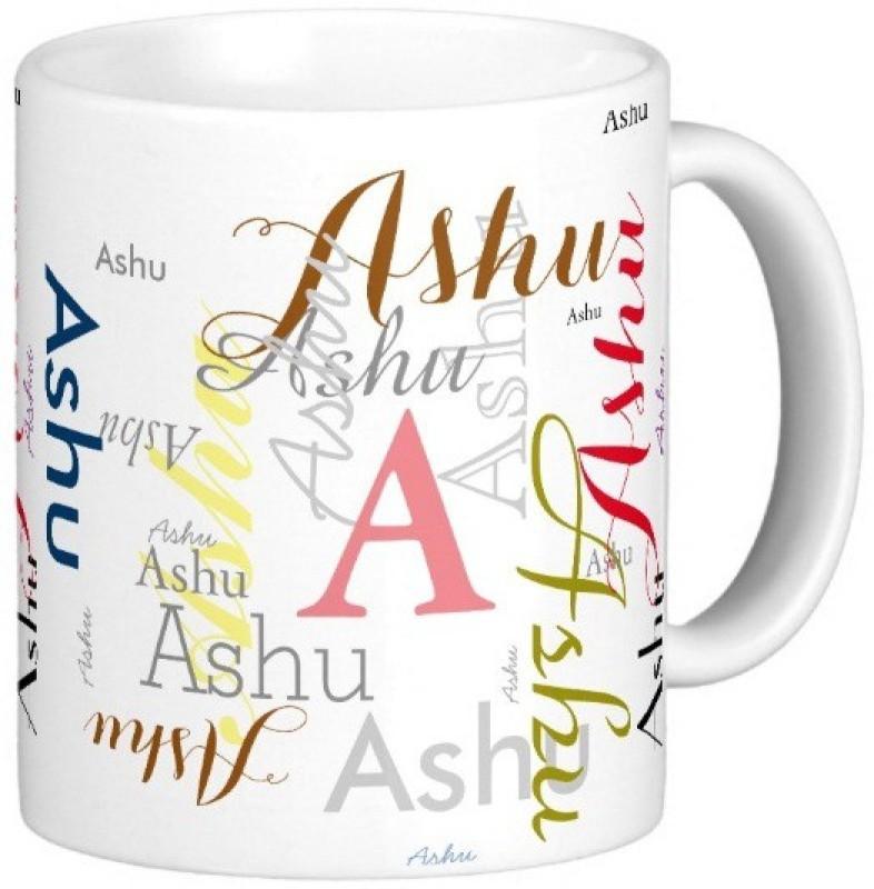 GNS Ashu Gift M006 Ceramic Mug(325 ml)