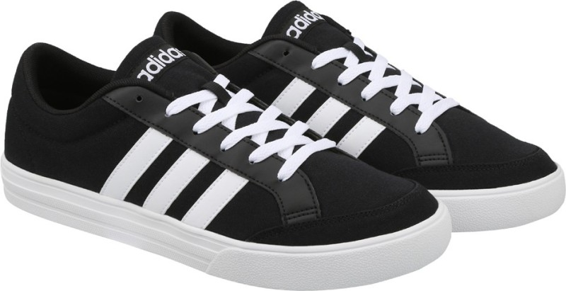 ADIDAS VS SET Tennis Shoes For Men(Black)