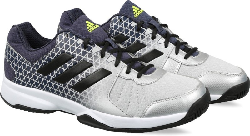 Adidas NET NUTS Tennis Shoes For Men(Silver)