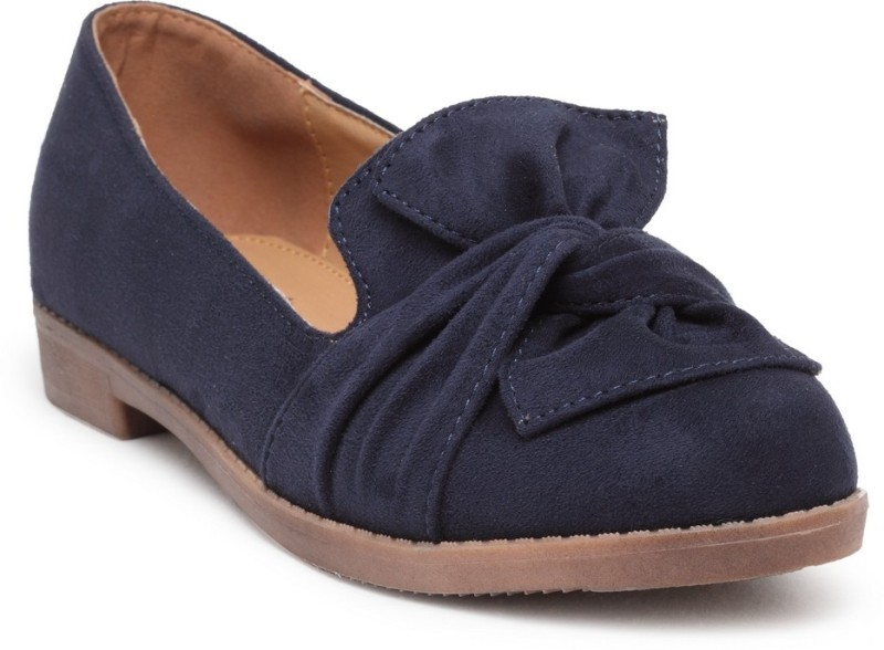Flat n Heels Loafers For Women(Blue)