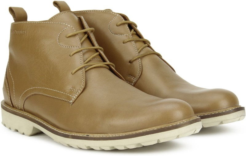 Hush Puppies DEBONAIR CHUKKA Boots For Men(Tan)