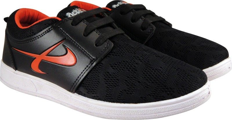 Action Synergy Mens NM014 Black/Red Sneaker Sneakers For Men(Black, Red)