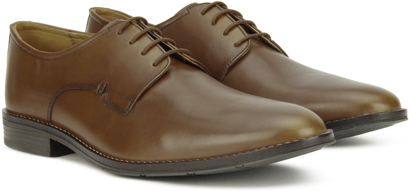 Hush Puppies ALBERT BROONSON DERB Lace Up For Men(Tan)